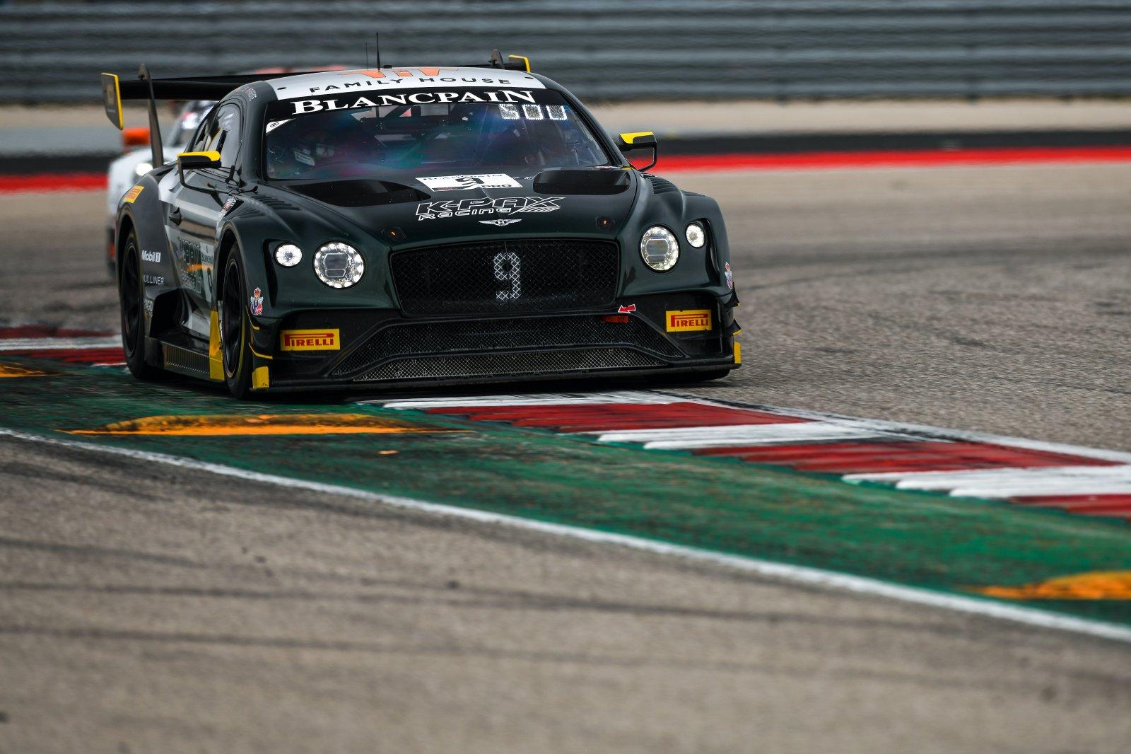#9 Bentley Continental GT3, Alvaro Parente or Andy Soucek