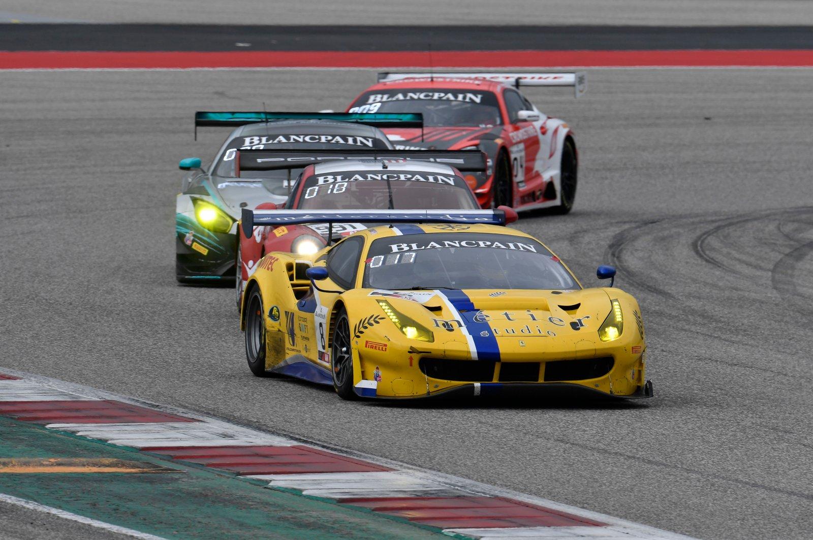 Vital Speed Motorsports, Rich Baek, Trevor Baek, Ferrari 488 GT3