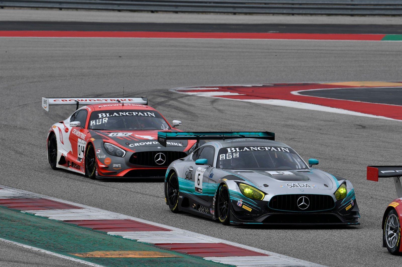 US RaceTronics, Steven Aghakhani, Richard Antinucci, Mercedes-AMG GT3, Sada Systems, #04: DXDT Racing, George Kurtz, Colin Braun, Mercedes-AMG GT3, Crowdstri