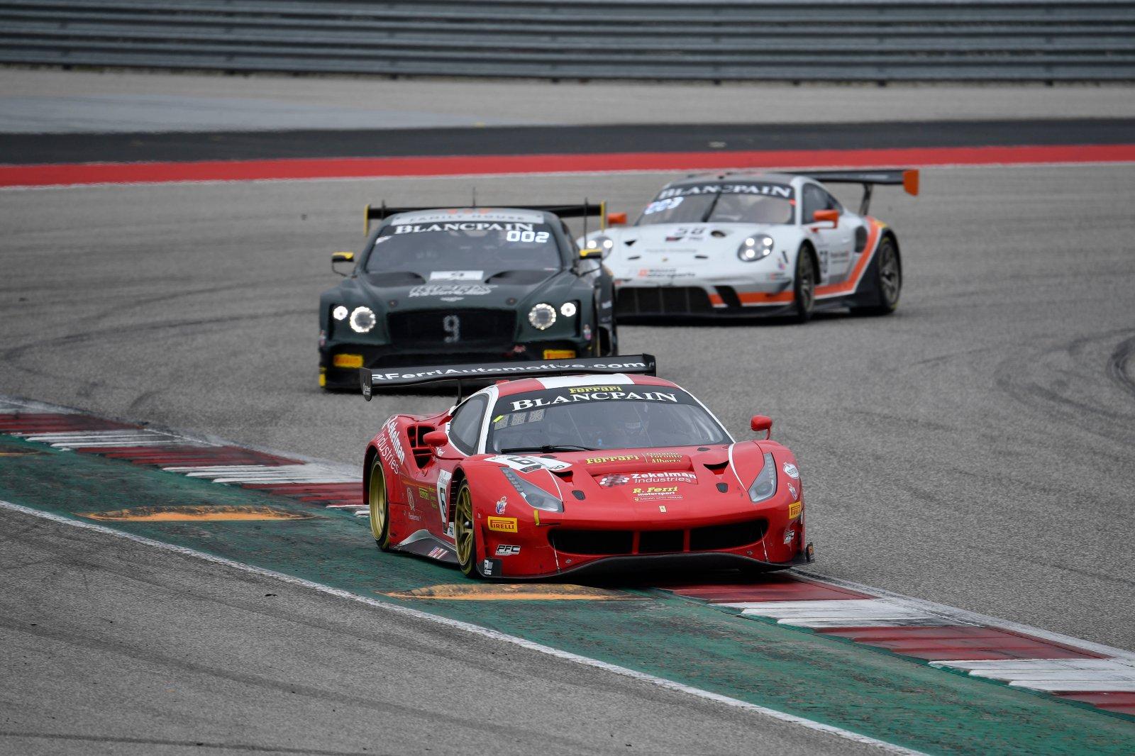 R. Ferri Motorsport, Miguel Molina, Toni Vilander, Ferrari 488 GT3, Ferrari of Ontario / Toronto / Alberta, Zekelman Industries, #9: K-PAX Racing, Alvaro Pa