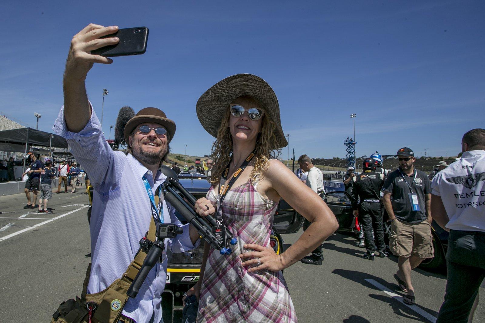 Fan walk  SRO at Sonoma Raceway, Sonoma CA
