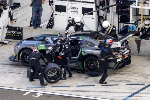 #33 Mercedes-AMG GT3 of Russell Ward and Mikael Grenier, Winward Racing, Fanatec GT World Challenge America powered by AWS, Pro, SRO America, Watkins Glen International raceway, Watkins Glen, NY, September 2021.