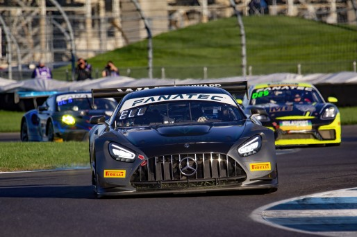 #33 Mercedes-AMG GT3 of Russell Ward, Phillip Ellis and Marvin Dienst, Winward Racing, Intercontinental GT Challenge, GT3 Silver Cup\SRO, Indianapolis Motor Speedway, Indianapolis, IN, USA, October 2021