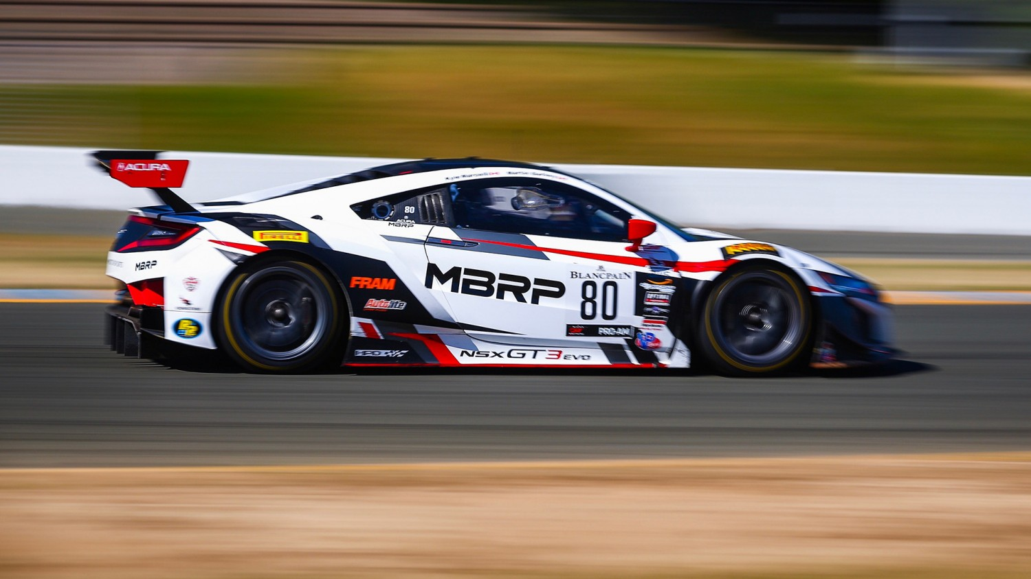 Acura/Marcelli Fastest in Blancpain GT World Challenge America Practice 2 at Sonoma Raceway