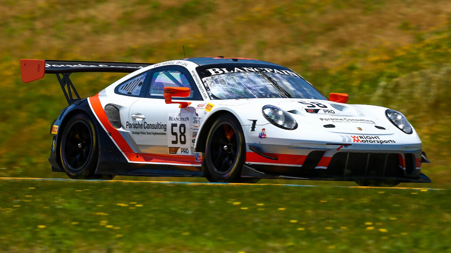 Long/Hargrove Win Blancpain GT World Challenge America Round 8 at Sonoma, Sofronas/Werner Win in Pro/Am