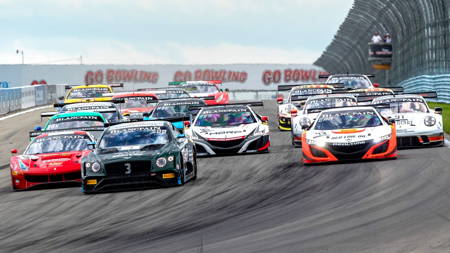 Bentley, Ferrari Set to Face Off Again as Blancpain GT World Challenge America Heads to Road America