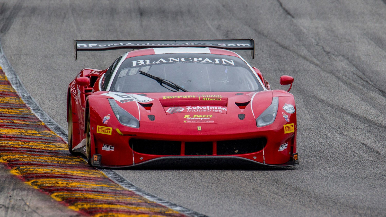 Serra/Vilander Dominate in Flag-to-Flag Blancpain GT World Challenge America Win at Road America