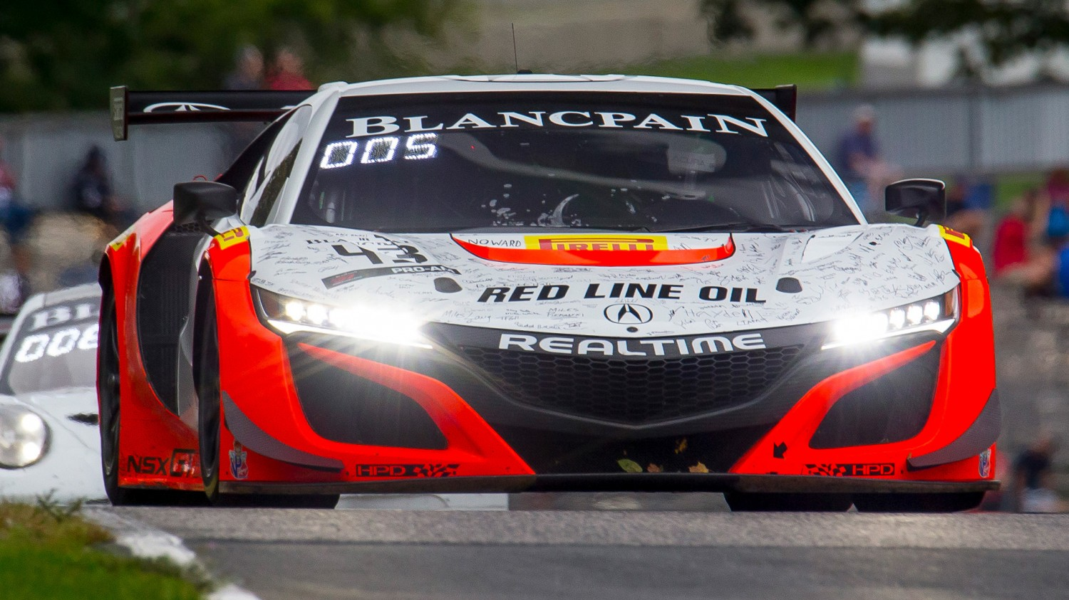 Hedlund Takes Overall and Pro/Am Win in Blancpain GT World Challenge America Round 12 at Road America