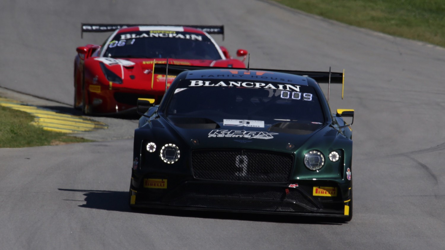 K-PAX Bentley Scores Double VIR Pole in Two Tight Qualifying Sessions