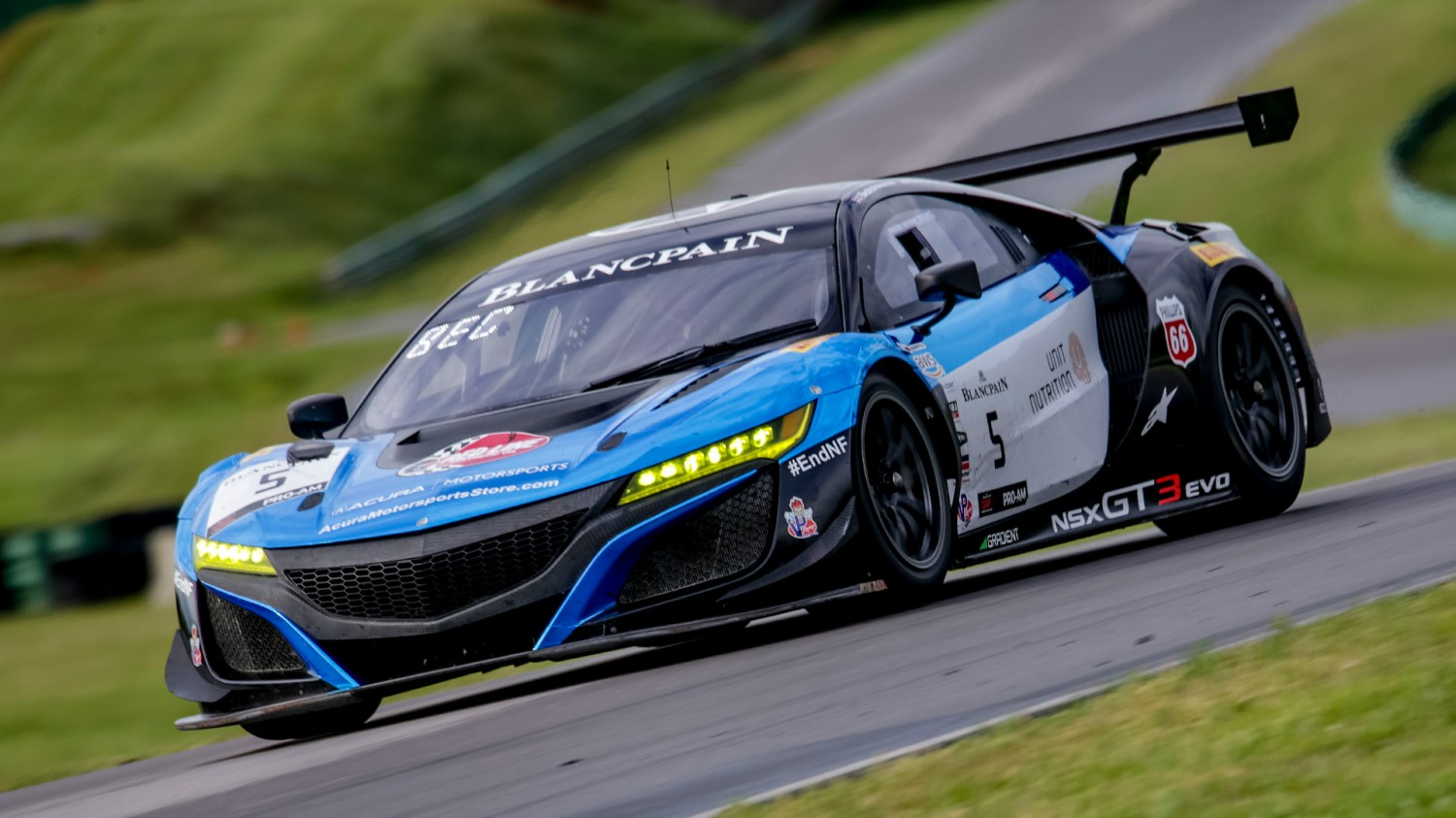 Bechtolsheimer Puts Pro-Am Acura Ahead in Wet Friday Afternoon Practice