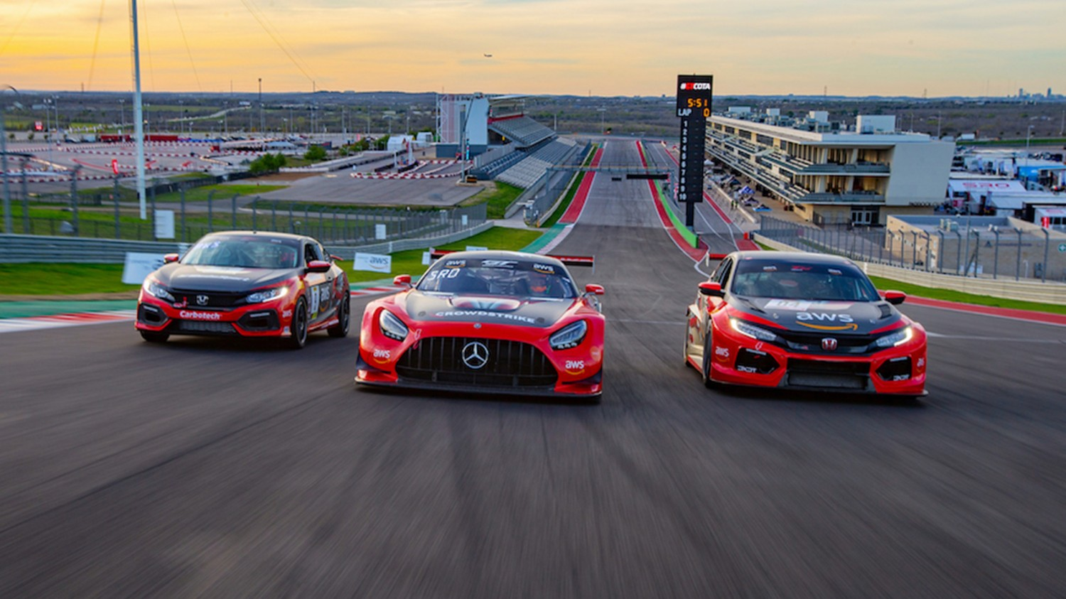 Championship Fights Heat Up as CrowdStrike Racing Returns to COTA