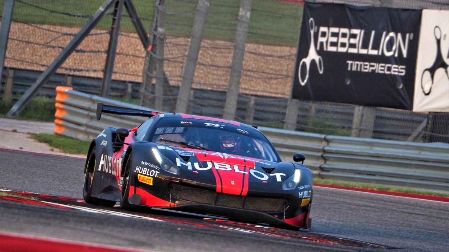 Fuentes, Baptista Prance to GT World Challenge America Poles at COTA