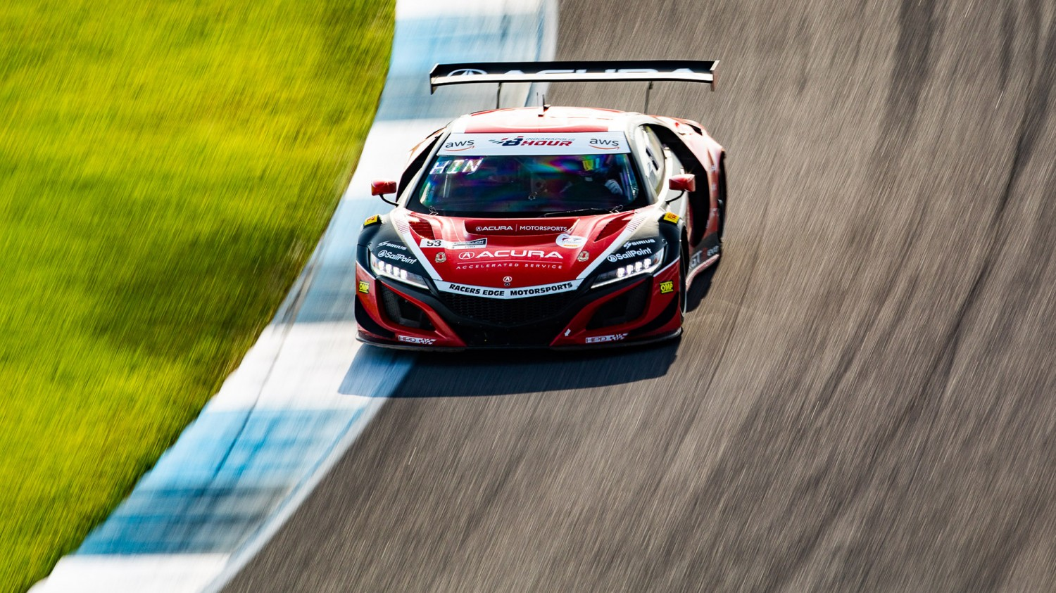 Acura, Racers Edge Motorsports Secure GT World Challenge America Pole at the Brickyard