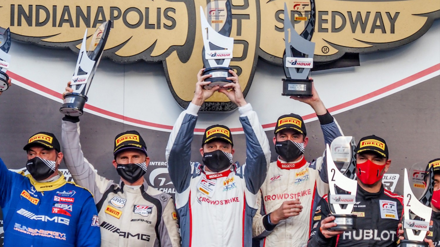CrowdStrike a Big Winner at Indianapolis in SRO America Finale