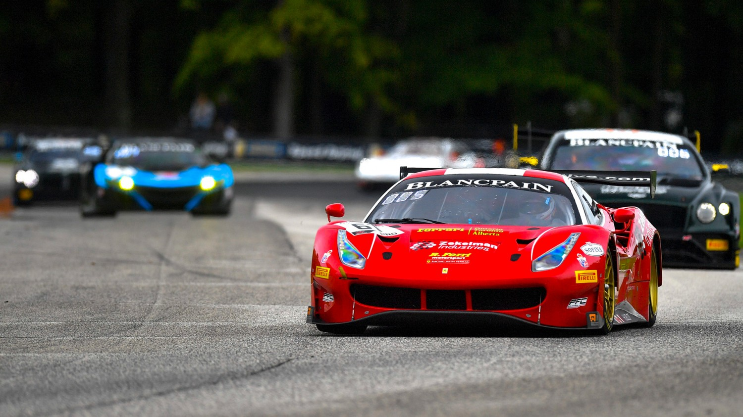 Blancpain GT World Challenge America Championships up for Grabs under Vegas' Bright Lights
