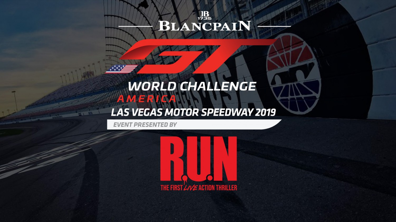 Blancpain GT World Challenge America Partners with R.U.N – The First Live Action Thriller Produced by Cirque du Soleil