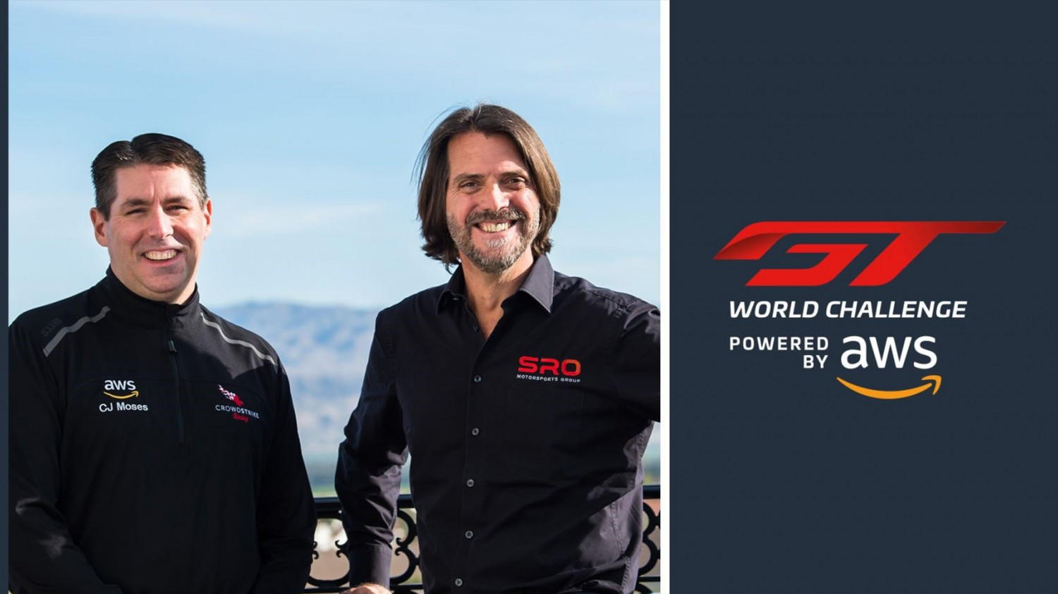 SRO Motorsports Group names Amazon Web Services (AWS) official presenter of GT World Challenge