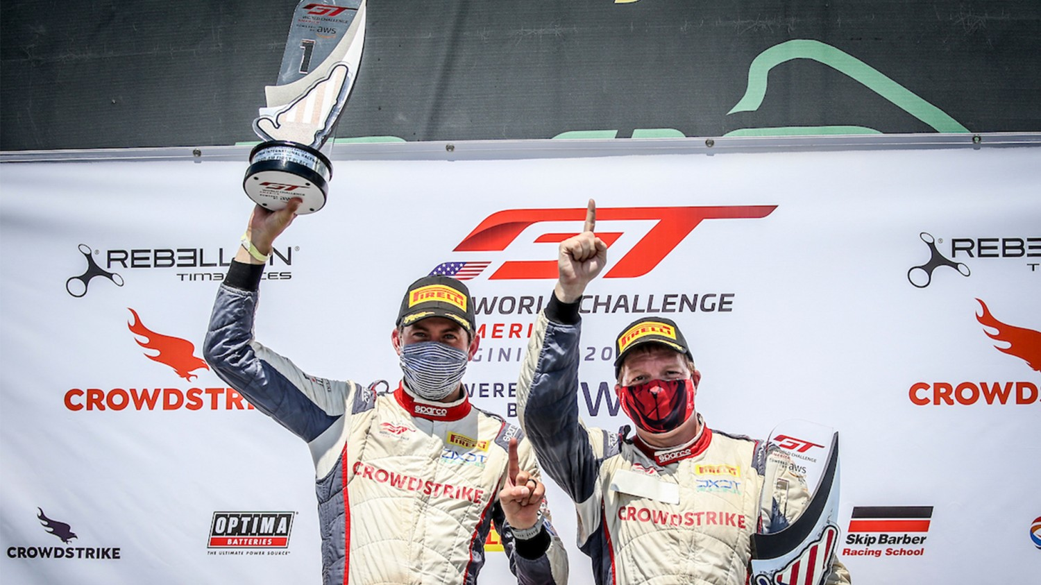 CrowdStrike Racing Takes First Victory in GT World Challenge