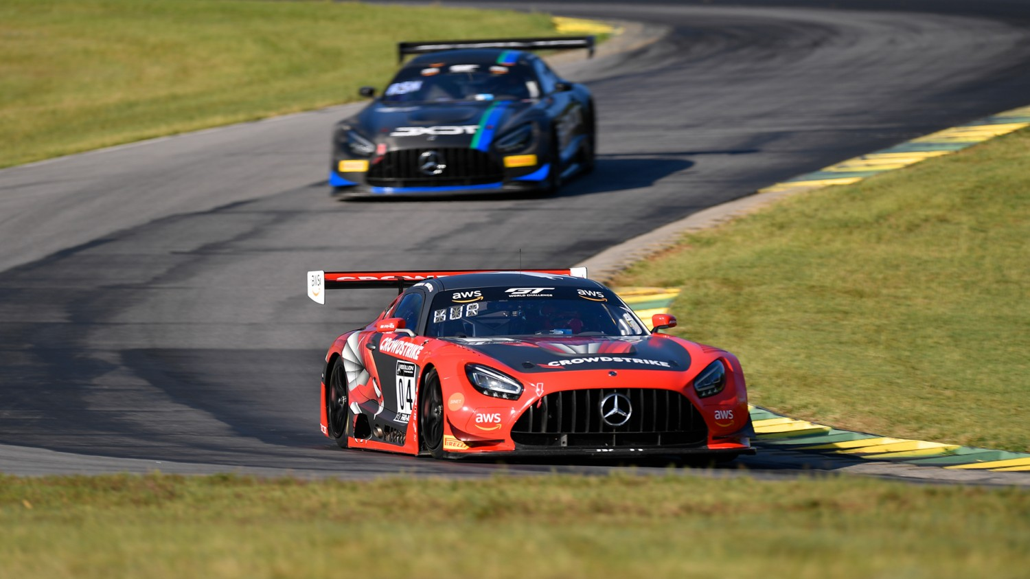 Mercedes-AMG Motorsport Customer Racing Teams Secure Three Race Wins, Five Podium Finishes in Competitive VIR Weekend
