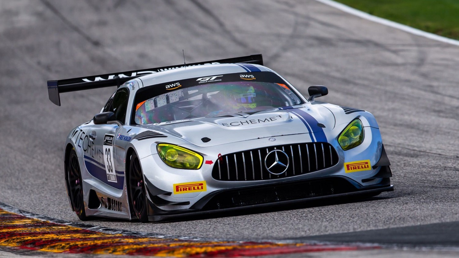 Dontje, Dalziel Grab GT World Challenge America Poles at Road America