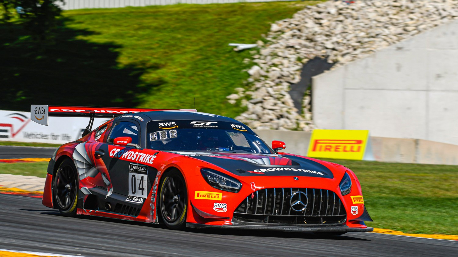 Blackstock/Hindman Continue GT World Challenge America Dominance at Road America