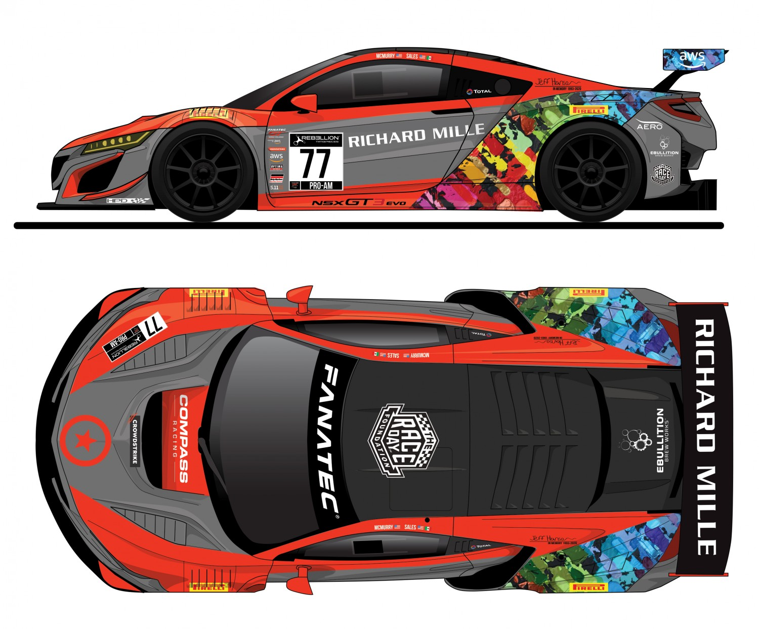 Compass Racing Adds SRO GT World Challenge Program With Acura NSX GT3