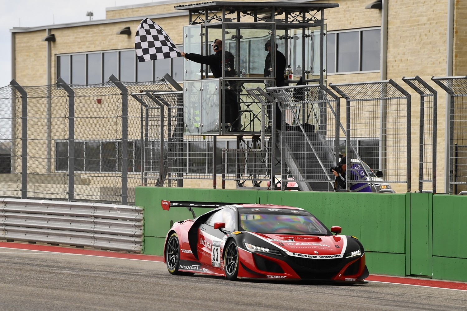 Racers Edge Motorsports, Acura Continue Dominance at COTA with GT World Challenge America Round 2 Win