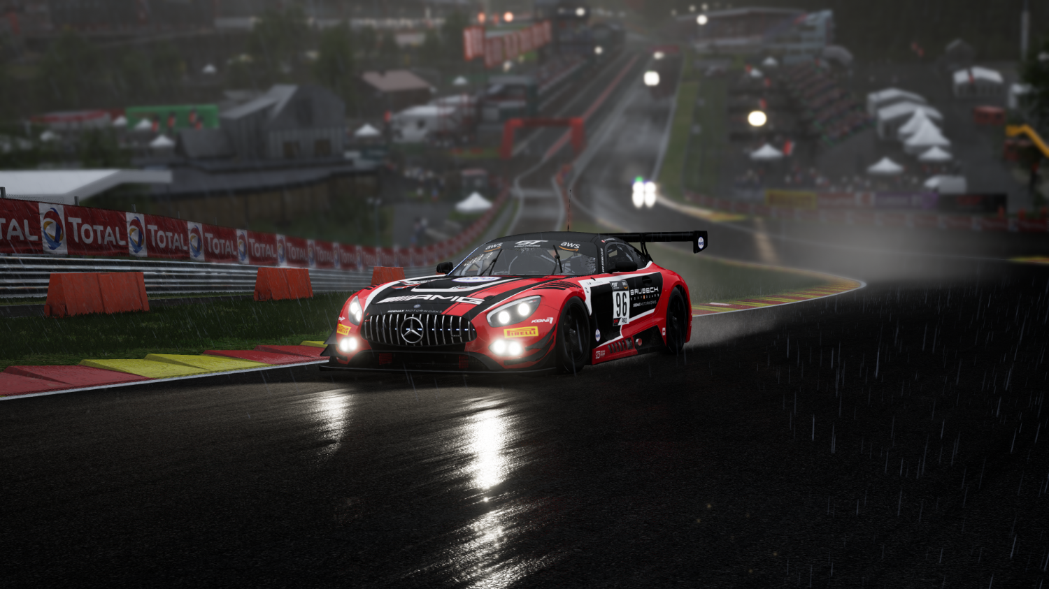 SideMax Motorworks, Mercedes-AMG Take Victory in Rain Soaked 6 Hours of Spa