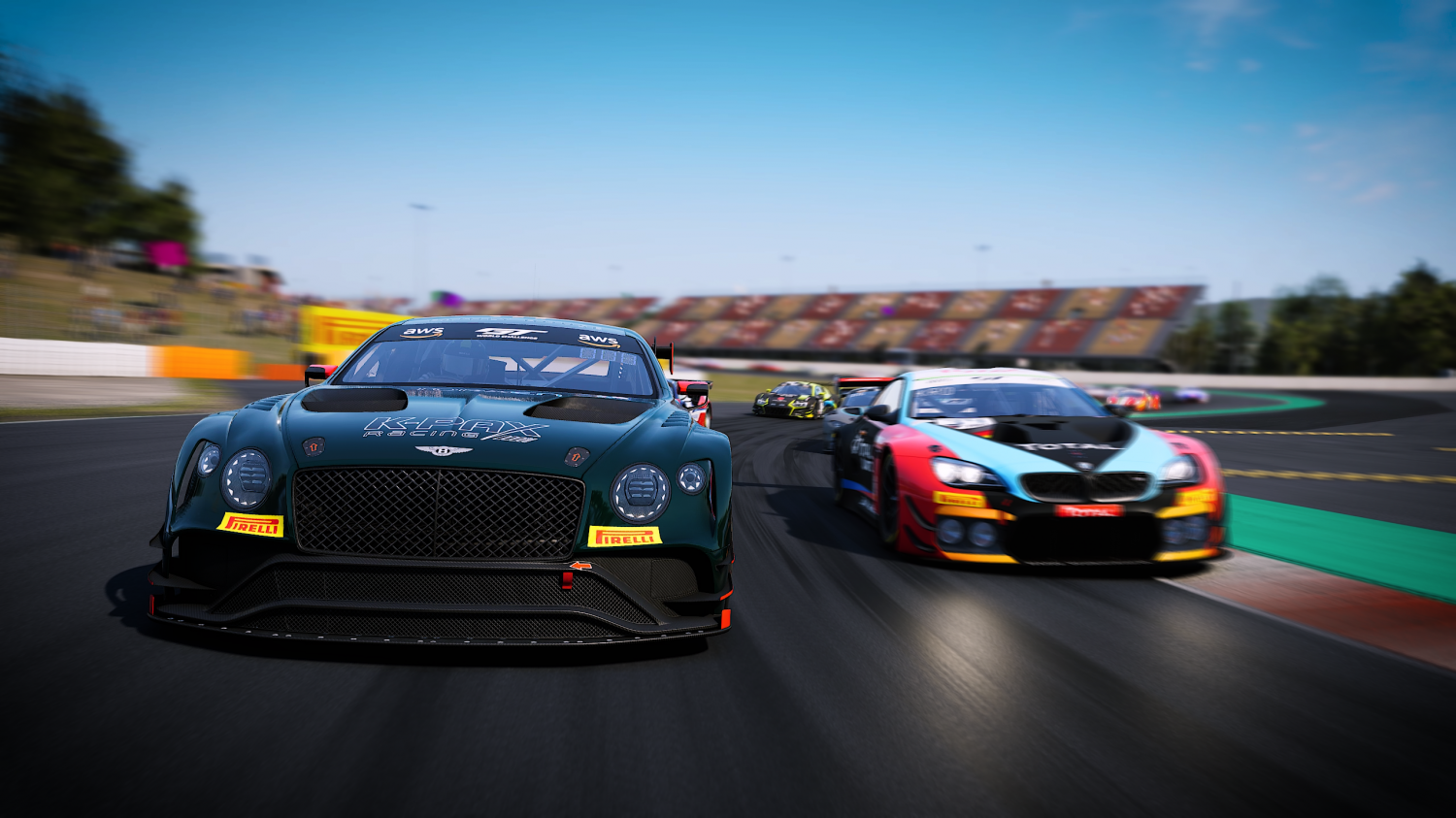 Barcelona Brings 40 Entries to GT Rivals Representing 11 Different GT3 Manufacturers