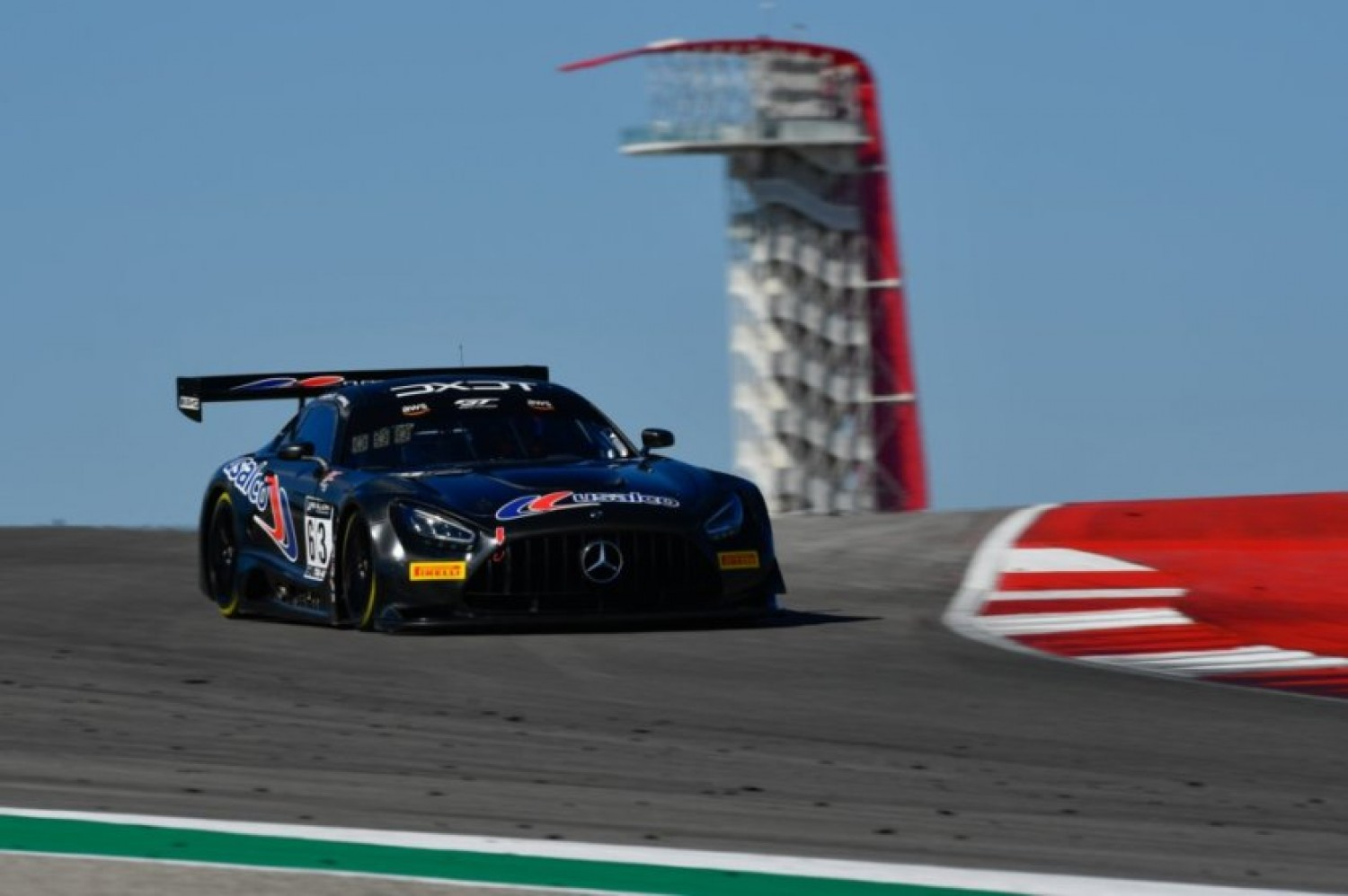 Dalziel Tops Charts in First GT World Challenge America Practice at COTA