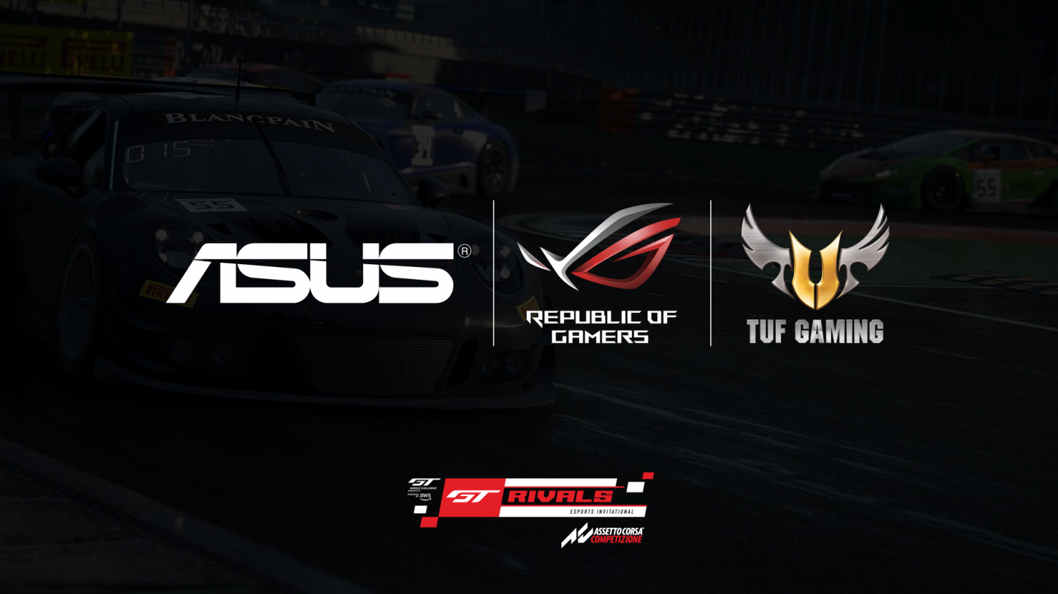 ASUS Republic of Gamers and TUF Gaming Named Official Hardware Partner of SRO GT Rivals Esports Invitational