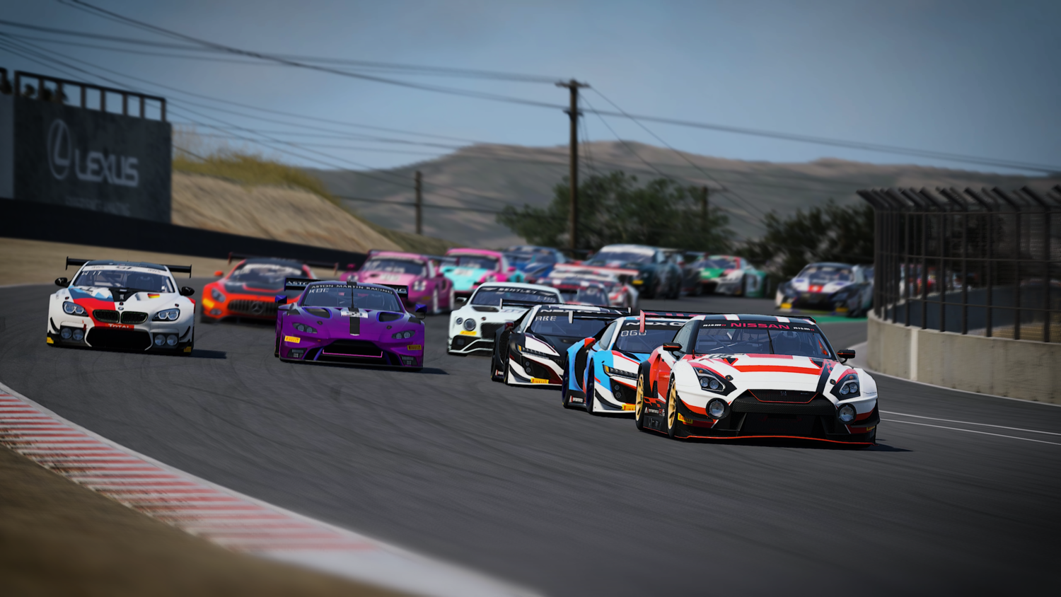 Heitkotter Claims Flag-to-Flag GT Rivals Victory at Laguna Seca