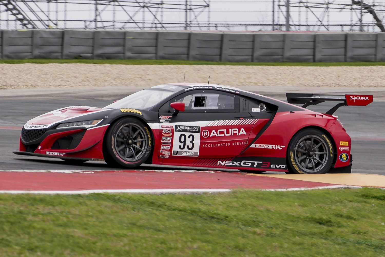 Blackstock/Hindman Score Dominating GT World Challenge America Round 1 Win at COTA