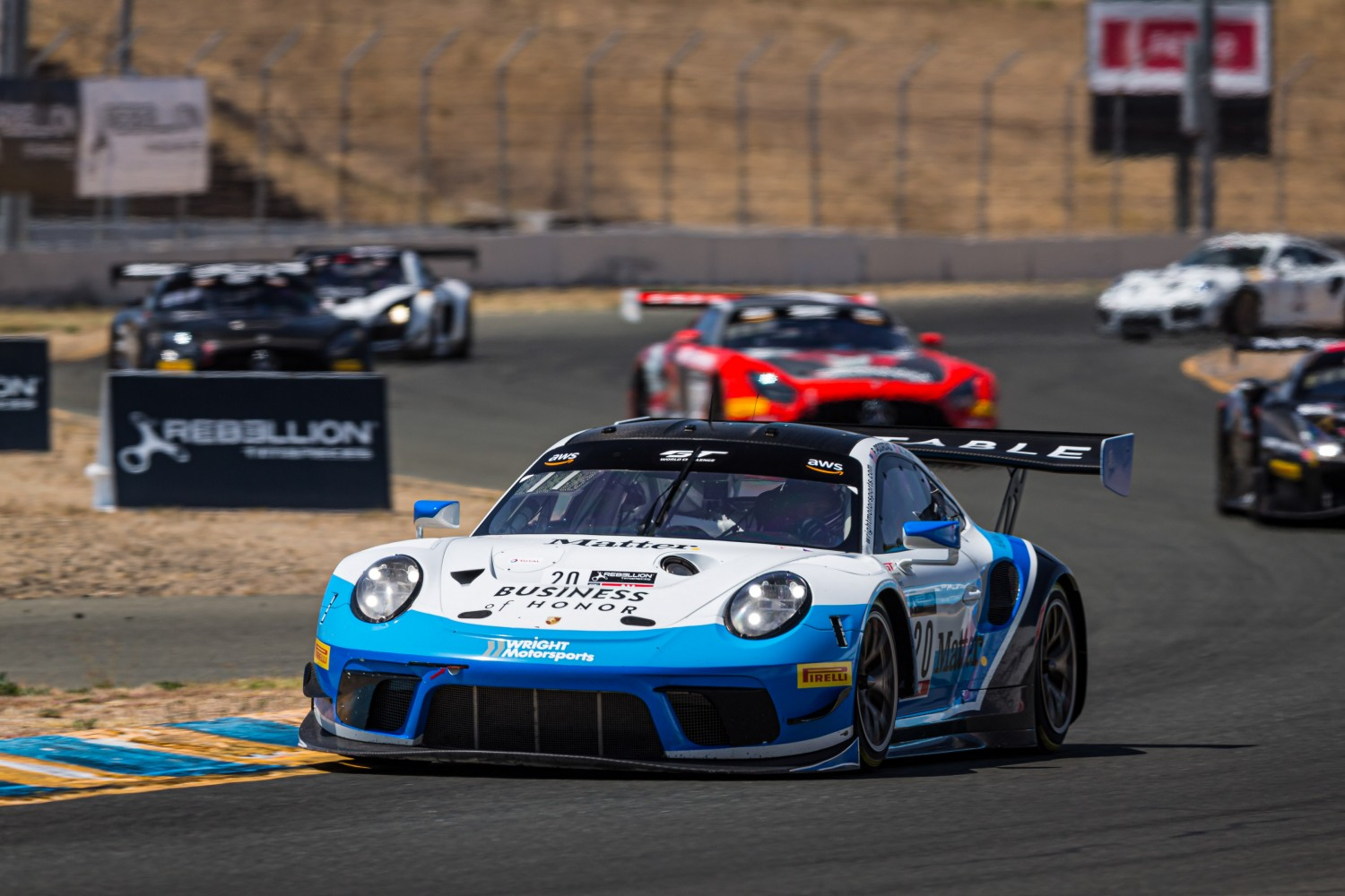 Wright Motorsports Rebounds at Sonoma Raceway to Claim Overall Podiums