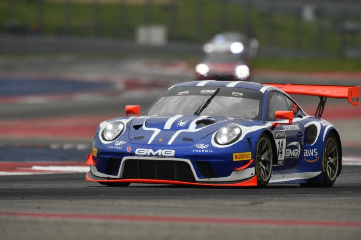 Sofronas Scores Pole for GT World Challenge America Round 1 at COTA, Hindman Grabs Pole for Round 2