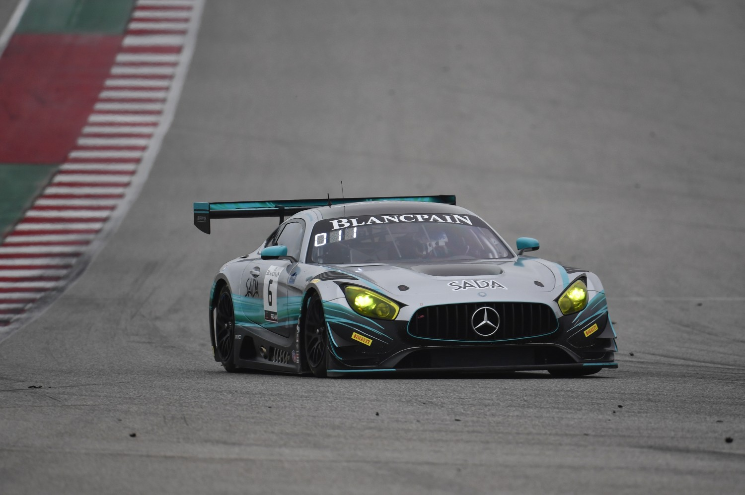 6: US RaceTronics, Steven Aghakhani, Richard Antinucci, Mercedes-AMG GT3, Sada Systems | SRO Motorsports Group