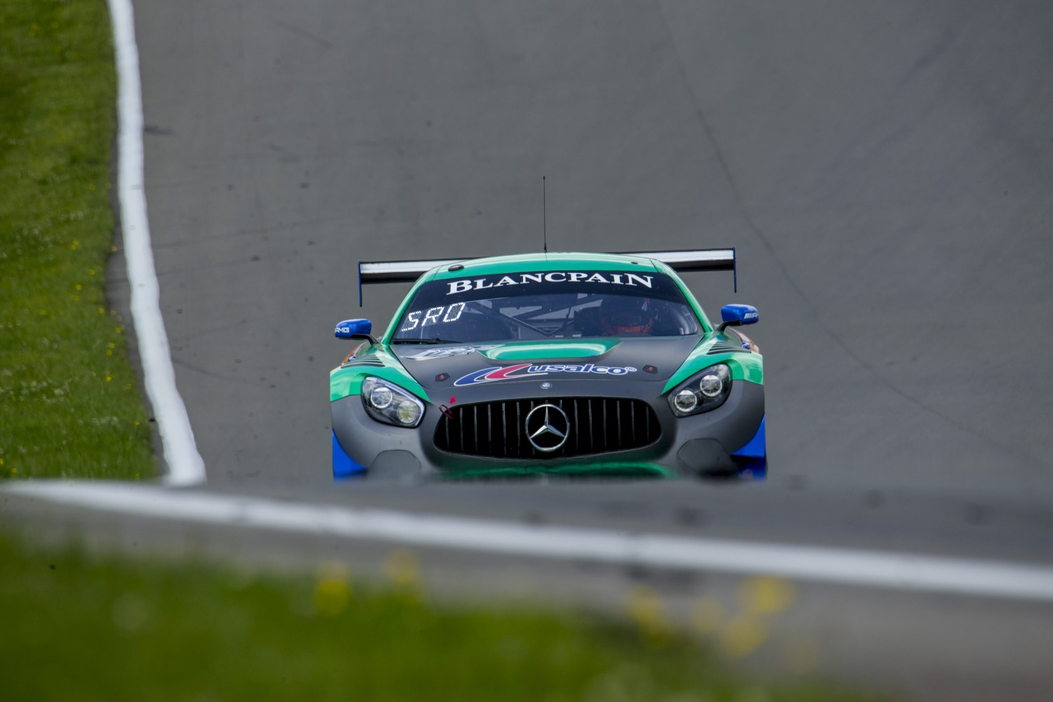 #63 Mercedes-AMG GT3 of David Askew and Ryan Dalziel, DXDT Racing, Watkins Glen World Challenge America, Watkins Glen NY  | SRO Motorsports Group