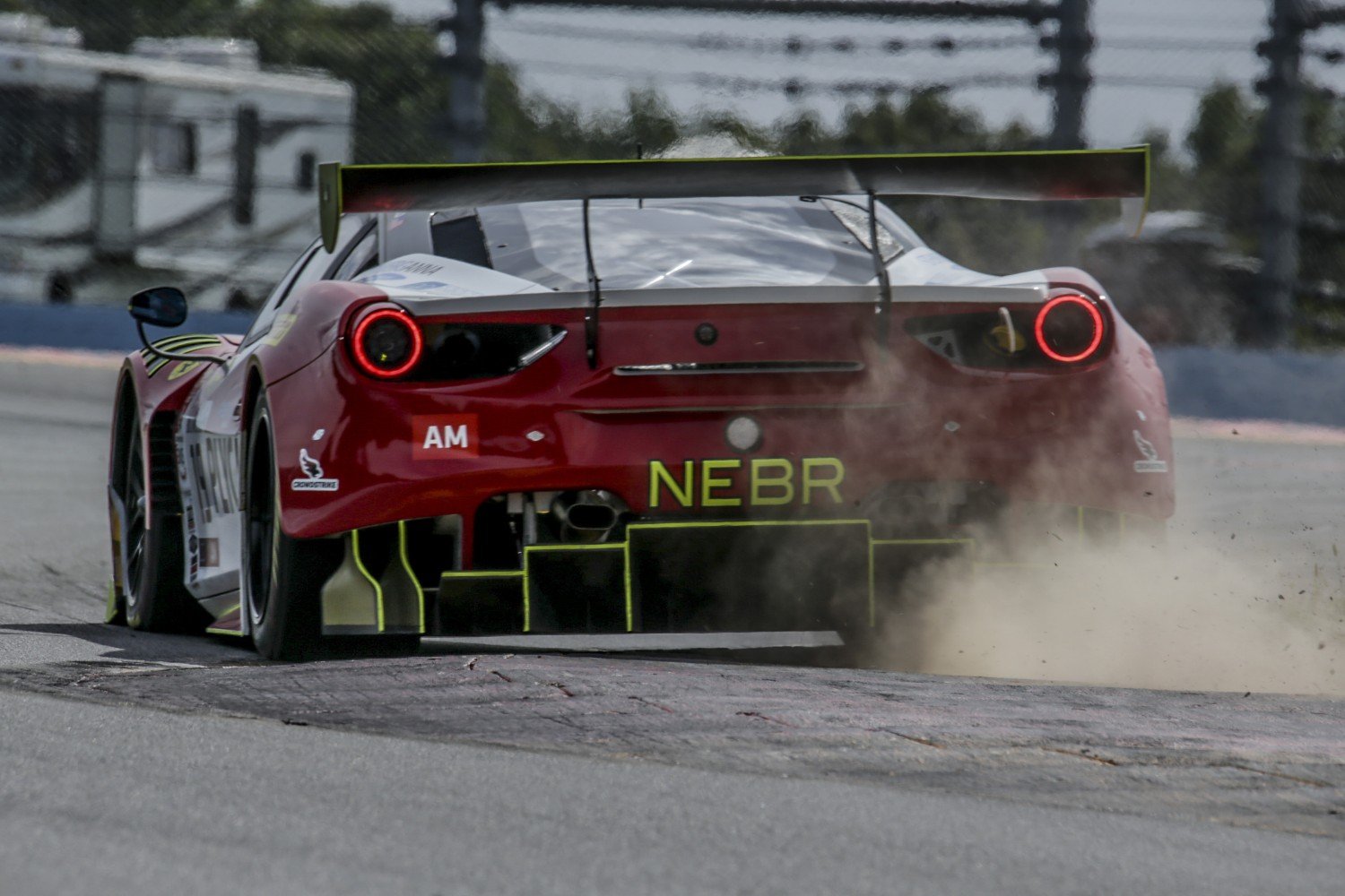 #19 Ferrari 488 GT3 of Christopher Cagnazzi and Anthony Lazzaro, One11 Competition, Watkins Glen World Challenge America, Watkins Glen NY  | Brian Cleary/SRO