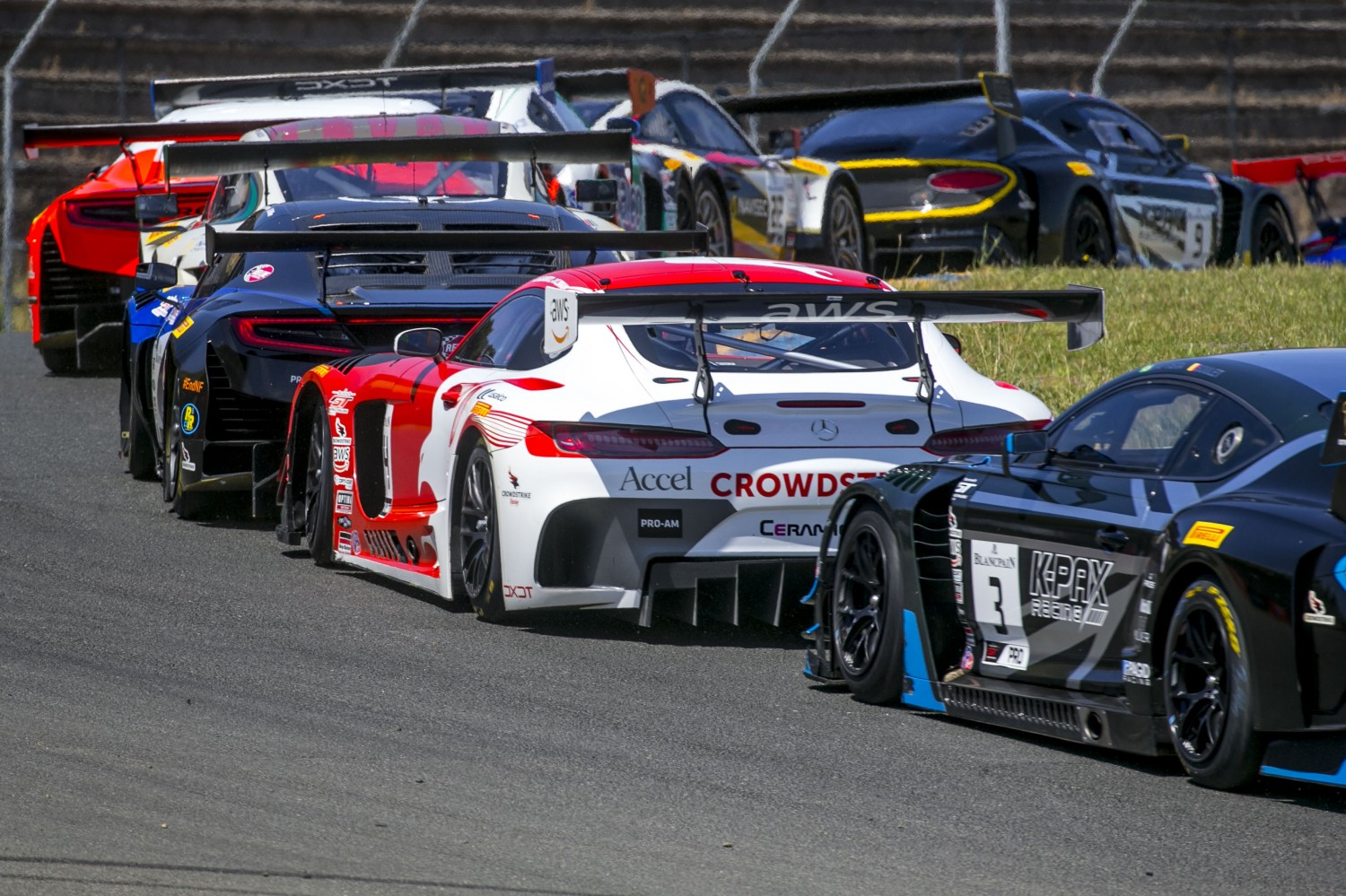 #04, DXDT Racing, Mercedes-AMG GT3, George Kurtz and Colin Braun, Crowdstrike, SRO at Sonoma Raceway, Sonoma CA  | Brian Cleary/SRO