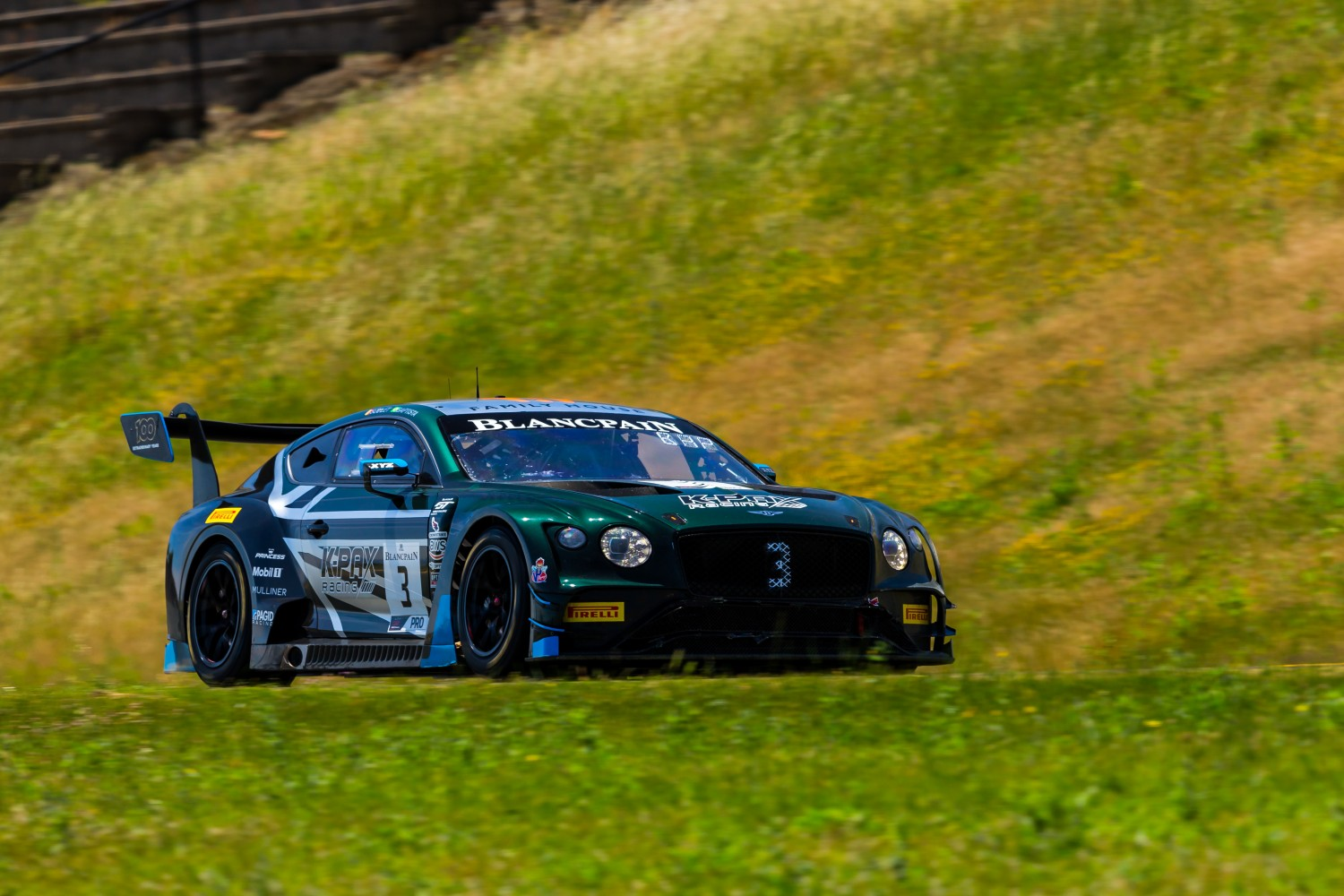 #3 Bentley Continental GT3 of Rodrigo Baptista and Maxime Soulet   SRO at Sonoma Raceway, Sonoma CA | Fabian Lagunas/SRO