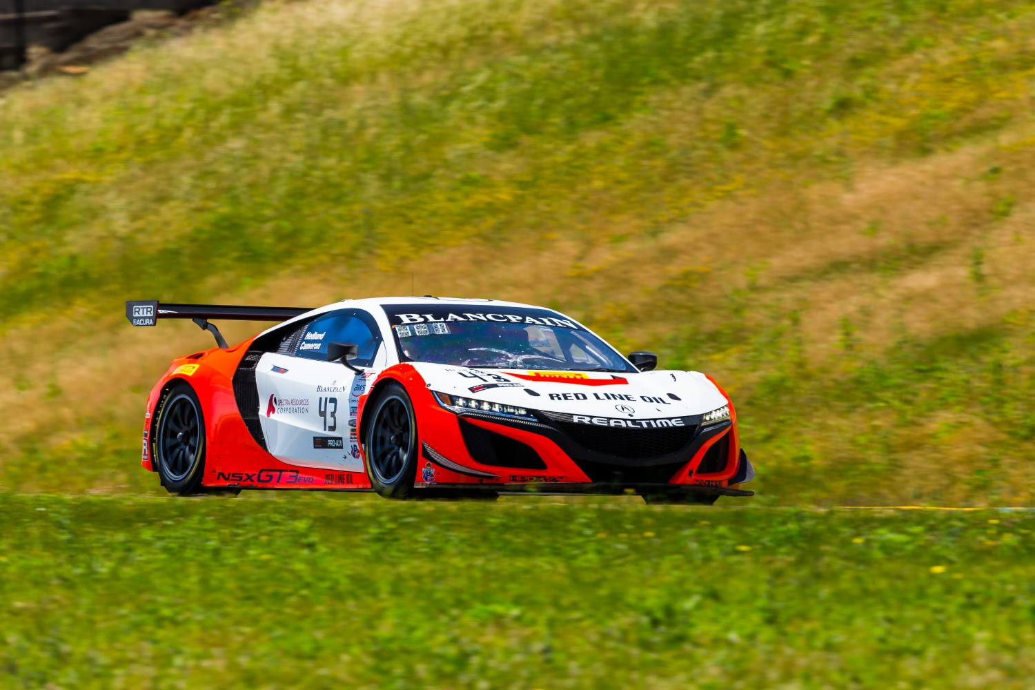 #43 Acura NSX of Mike Headlund and Dane Cameron   SRO at Sonoma Raceway, Sonoma CA | Fabian Lagunas/SRO
