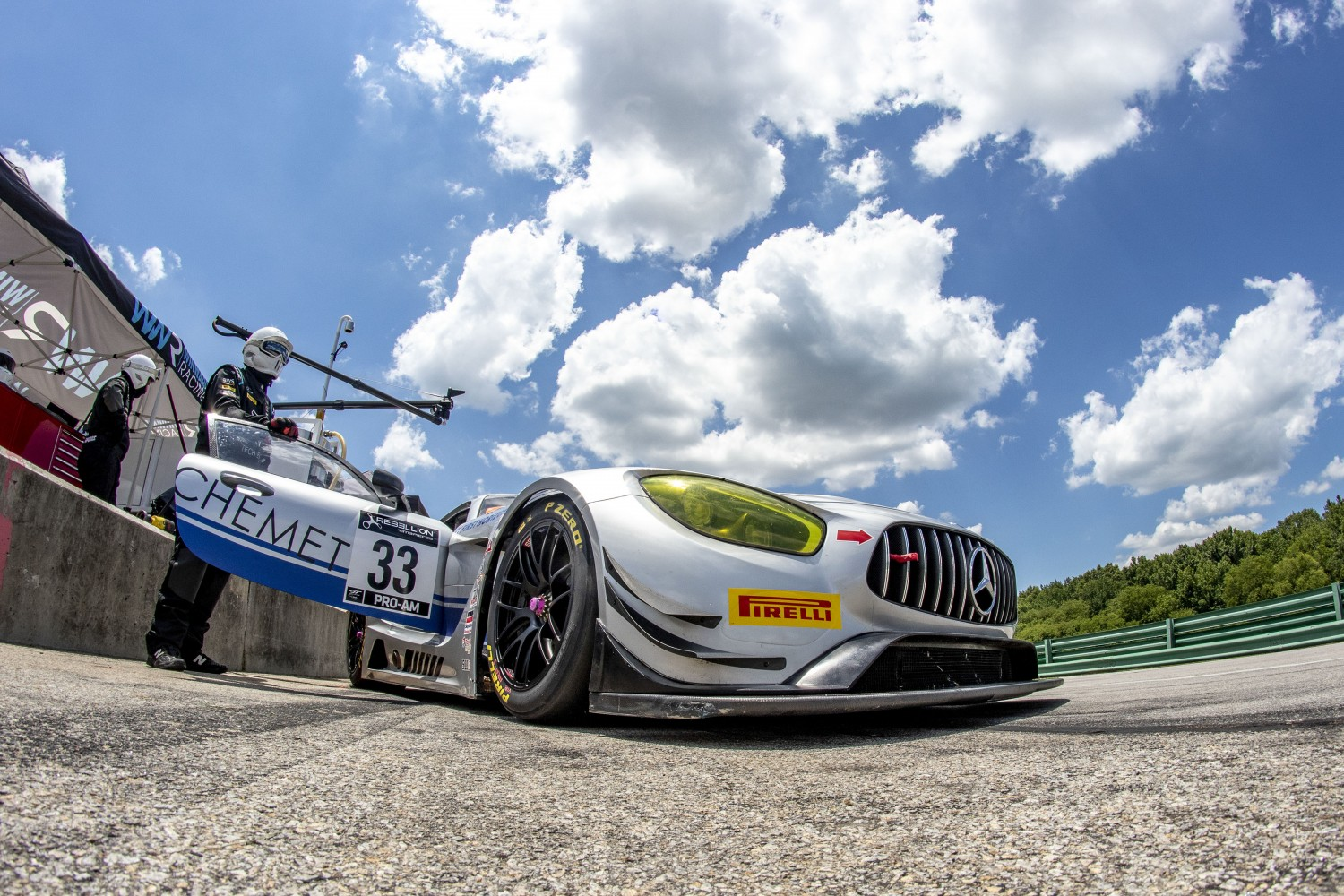 #33 GT3 Pro-Am, Winward Racing, Kris Wilson, Russell Ward, Mercedes-AMG GT3\, 2020 SRO Motorsports Group - VIRginia International Raceway, Alton VA
