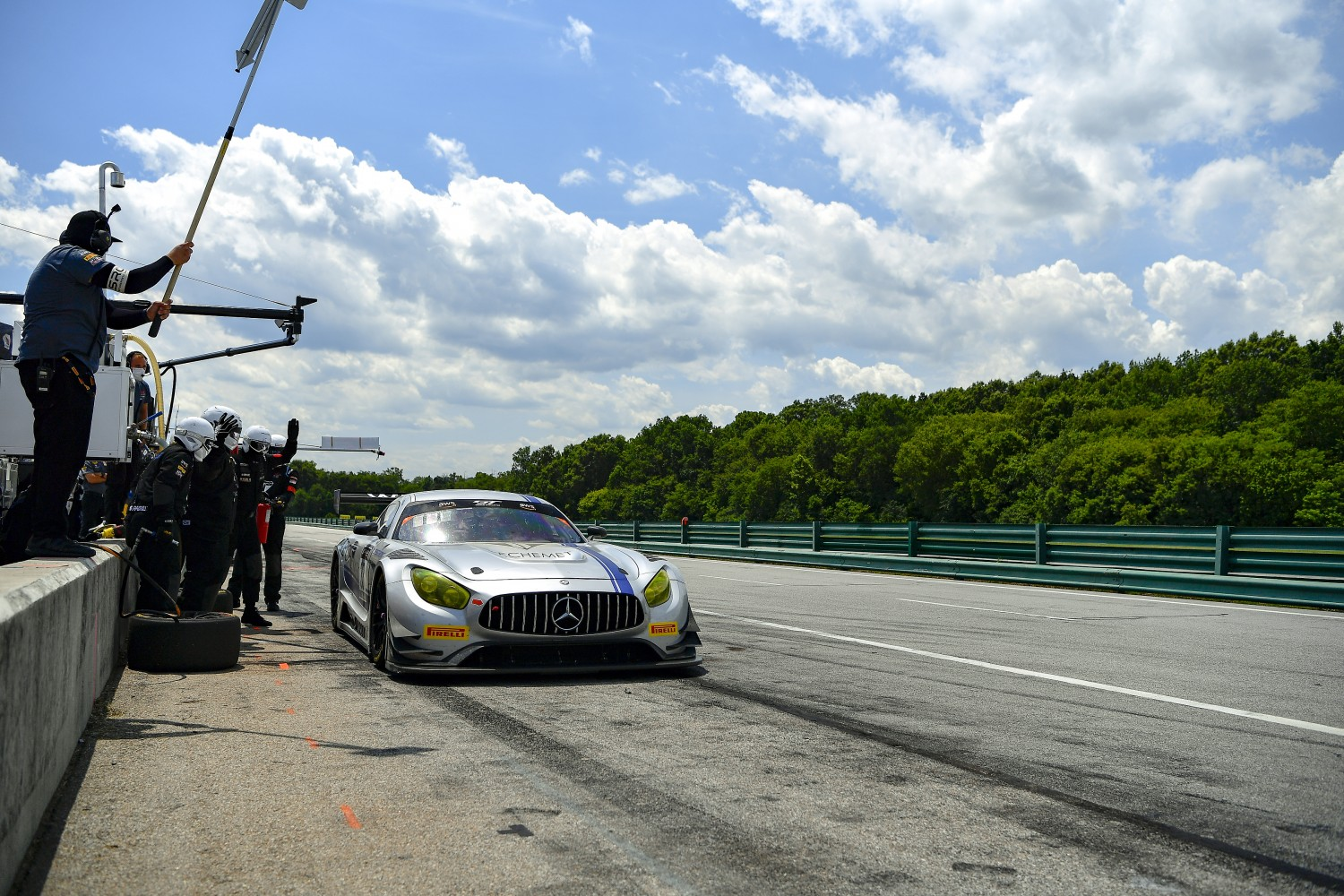 #33 GT3 Pro-Am, Winward Racing, Kris Wilson, Russell Ward, Mercedes-AMG GT3, 2020 SRO Motorsports Group - VIRginia International Raceway, Alton VA  | SRO Motorsports Group