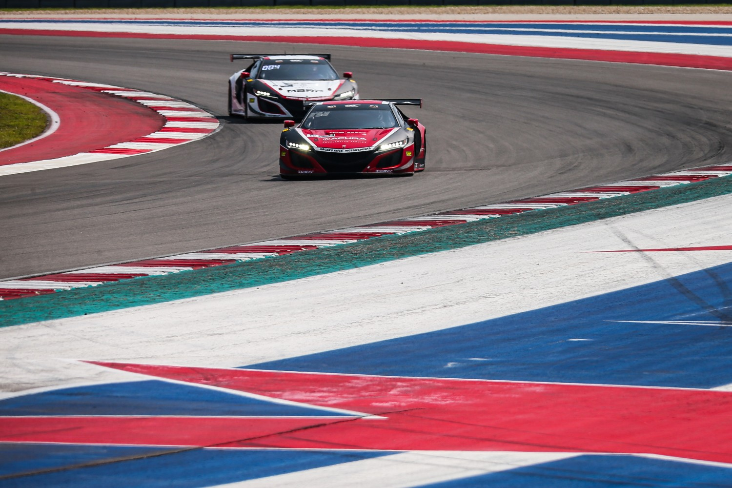 #63 Mercedes-AMG GT3 of David Askew and Ryan Dalziel, DXDT Racing, GT3 Pro-Am, SRO America, Circuit of the Americas, Austin TX, September 2020.  | Sarah Weeks/SRO
