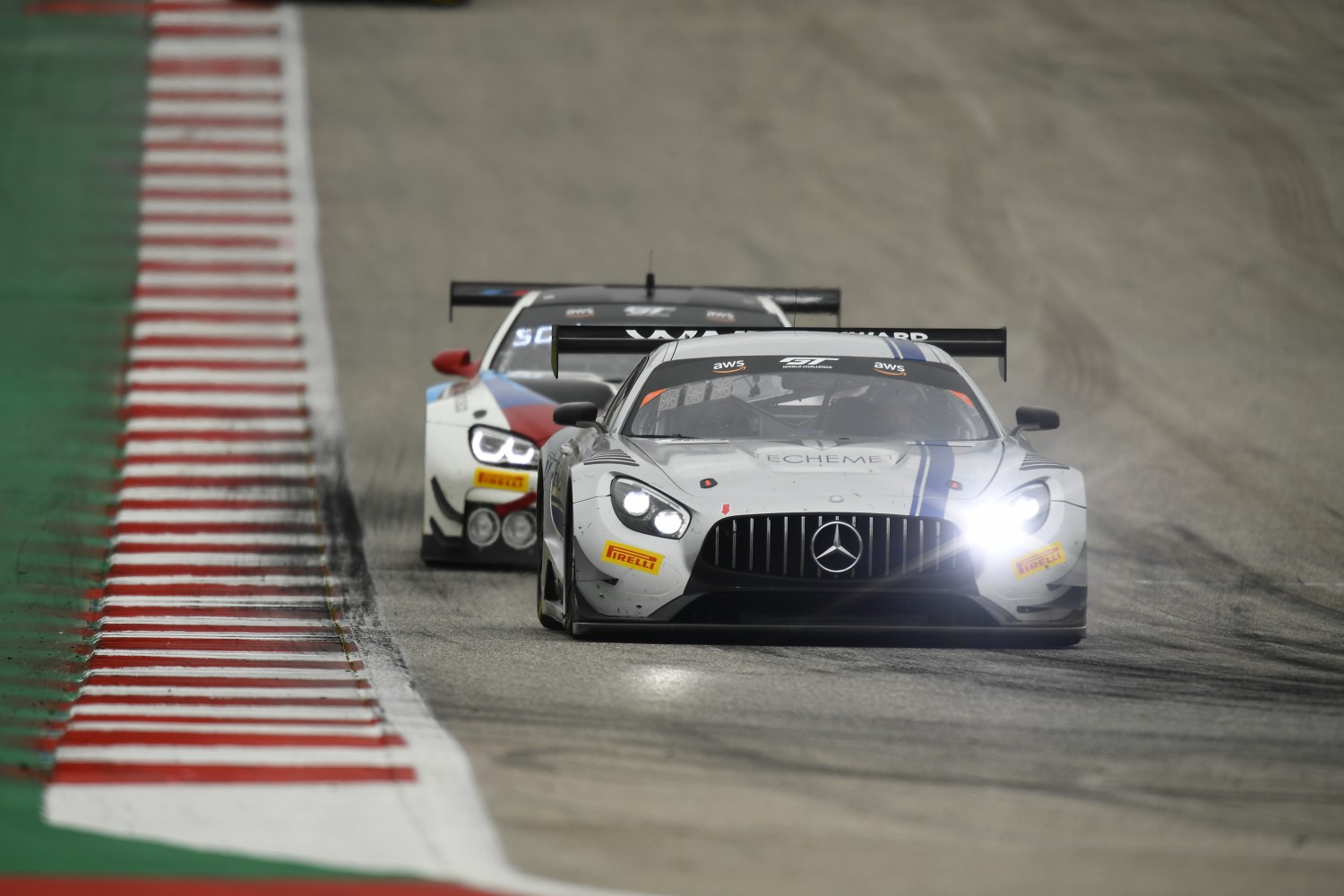 #33 GT3 Pro-Am, Winward Racing, Bryce Ward, Russell Ward, Mercedes-AMG GT3, 2020 SRO Motorsports Group - Circuit of the Americas, Austin TX  | SRO Motorsports Group