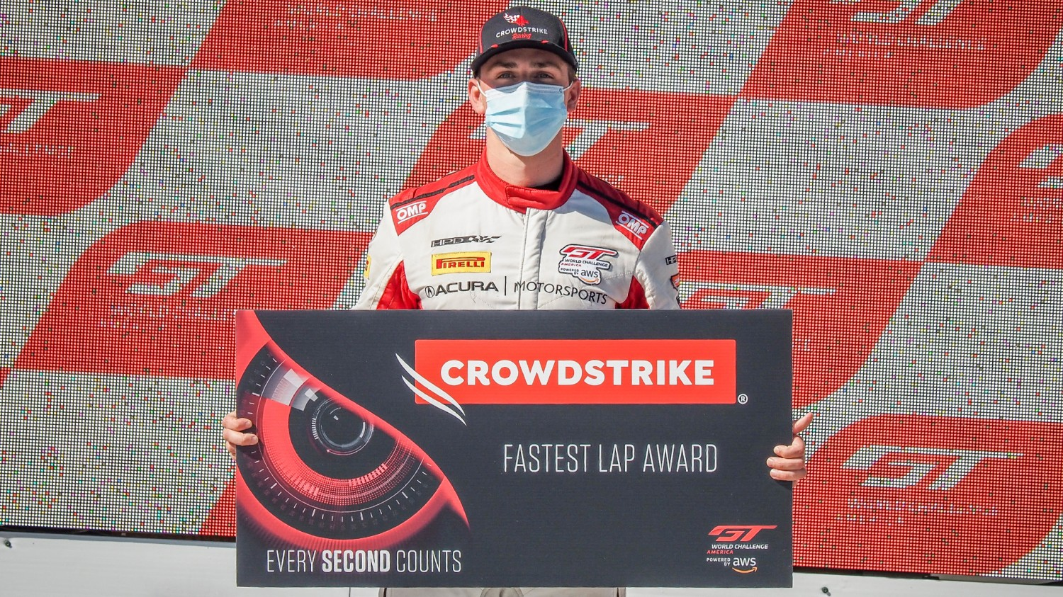 CrowdStrike Fastest Lap Award - Every Second Counts