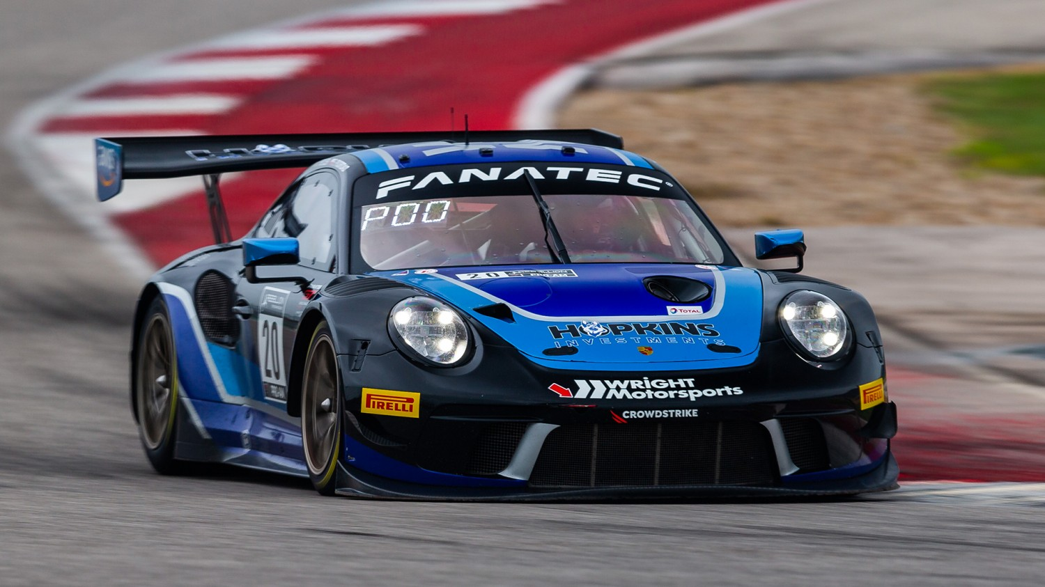 Heylen, Porsche Tops First GTWCA Practice Session at COTA